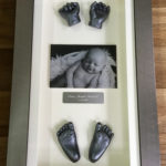 3d framed full set of casts with photo