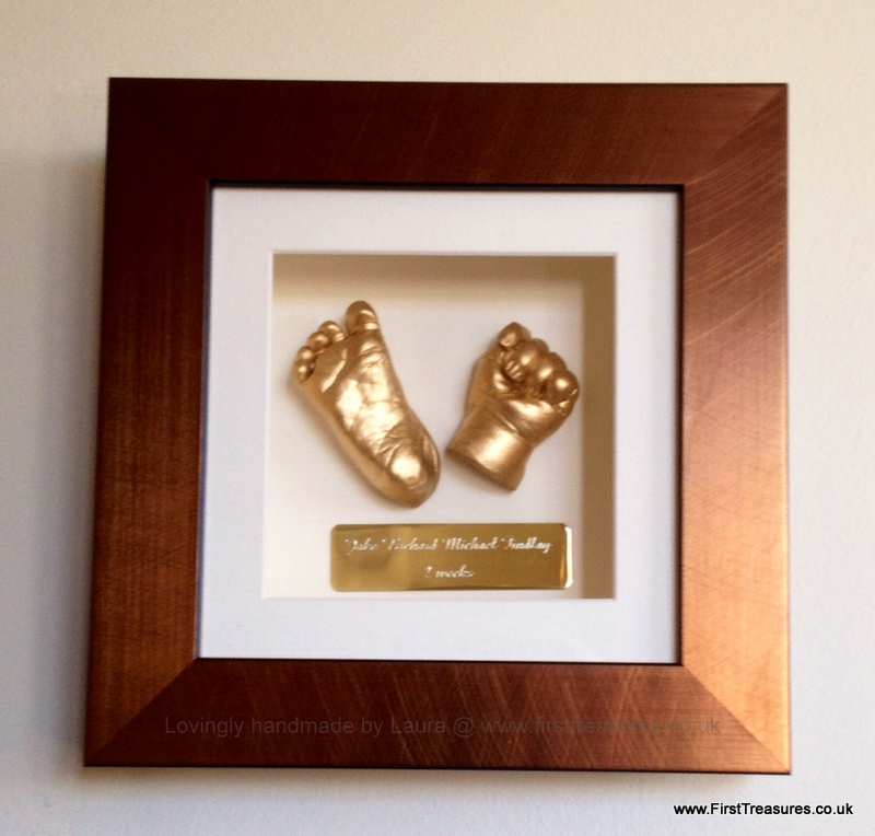 3d framed hand and foot casts