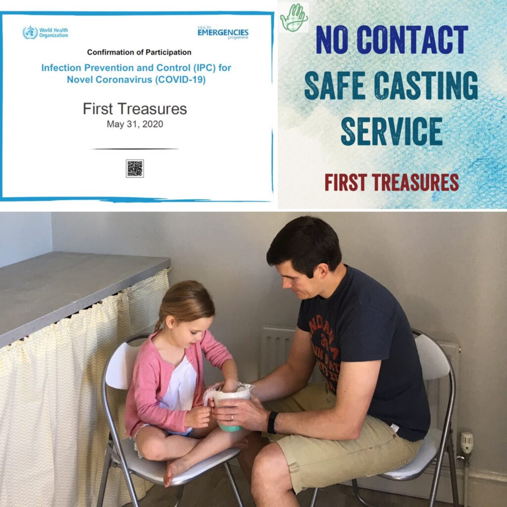 Baby hand and foot castings studio