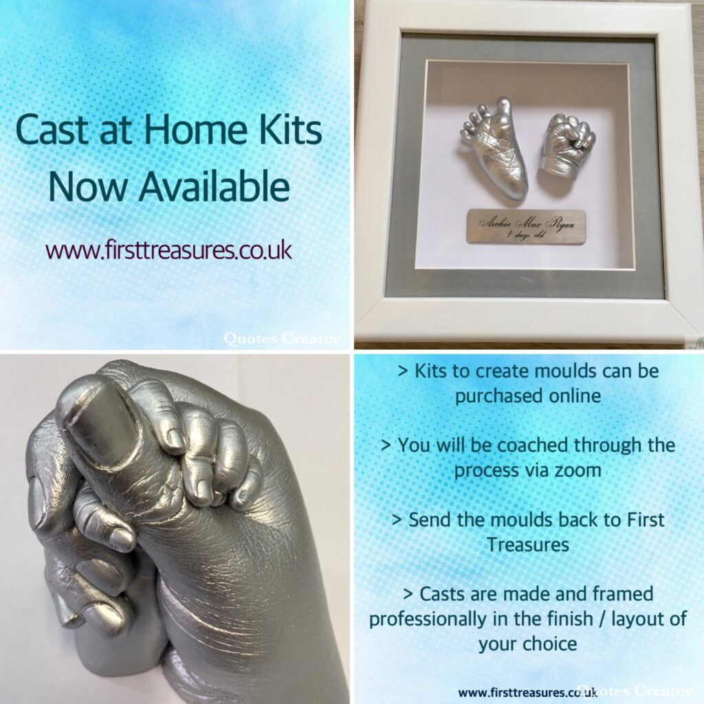 First Treasures casting kits