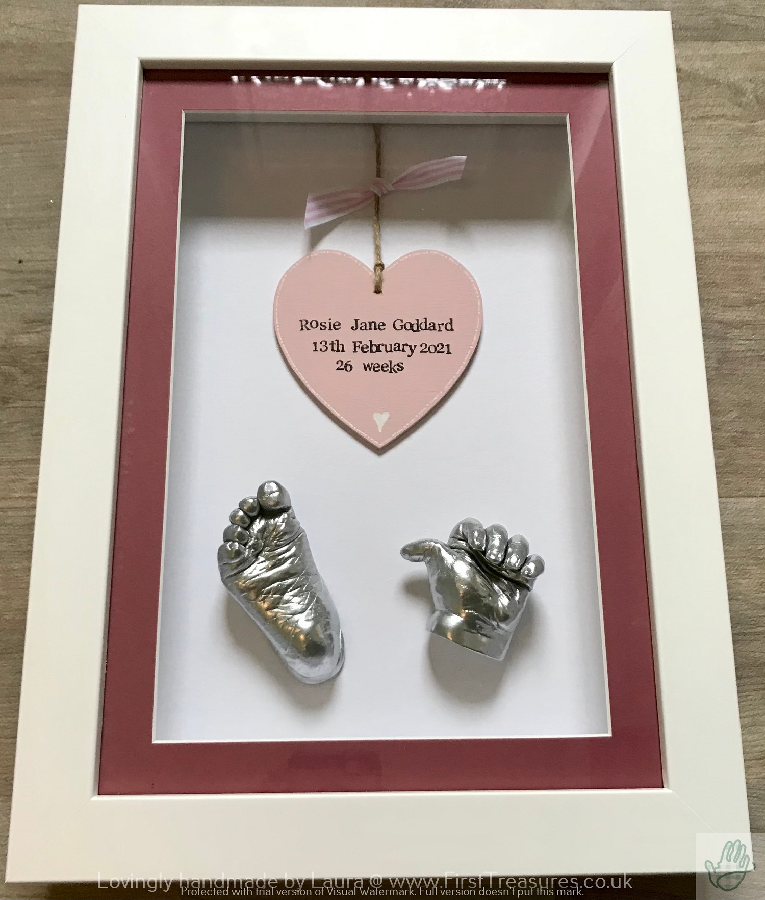 Baby Hand and Foot Castings